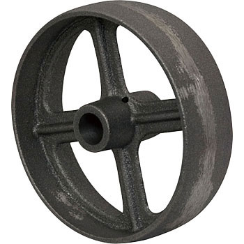 Ductile core made the wheels C (without ductile bearing)