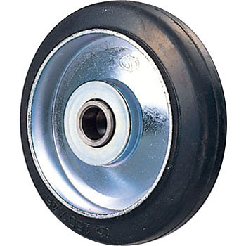 Steel caster wheels