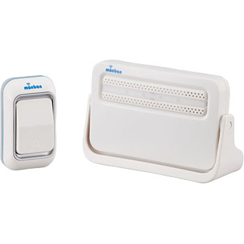 Wireless Chime Receiver and Push Button Set
