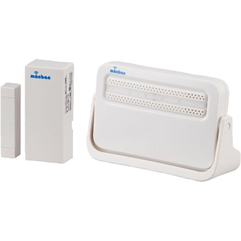 Wireless Chime Receiver and Door Sensor Set