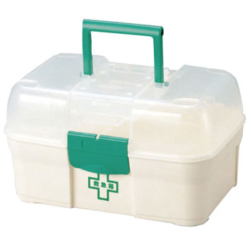 First aid kit (plastic)