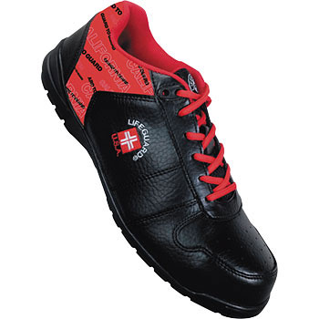 LA-01 Lifeguard Safety Sneakers Black