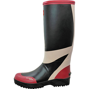 LL-01 Lifeguard Color Boots Black