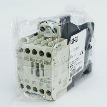 DC operation type electromagnetic contactor