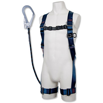 Full harness safety belt blue shadow (with G blade)