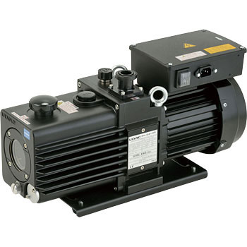 Direct-coupled oil-sealed rotary vacuum pump
