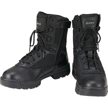 Lace-up Boots 8 Tactical Sport Side Zipper