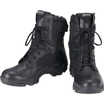 Lace-up Boots DELTA-8 Side Zipper