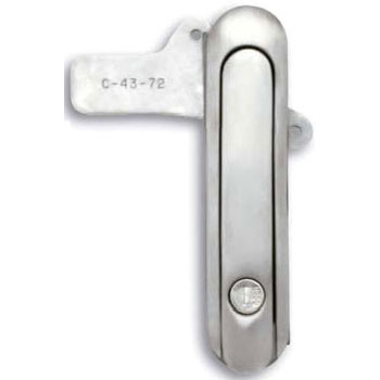 Stainless steel waterproof plane swing handle