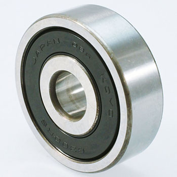 Single row deep groove ball bearings with double-sided contact seal 6300 series