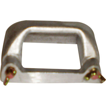 Handle for microwave stone