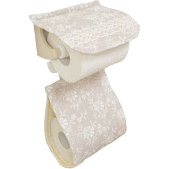 Lace paper holder cover