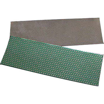 Electrodeposition diamond hand lapper lapper sheet