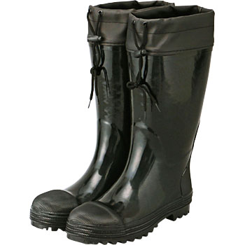 Safety Black Boots With Cover