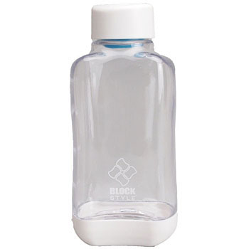 Block style PC aqua bottle