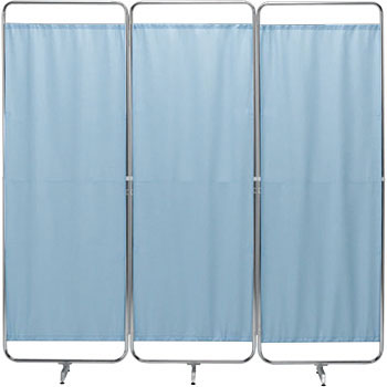 Retractable Curtain Screen 1800 X 400 X 1800mm Blue