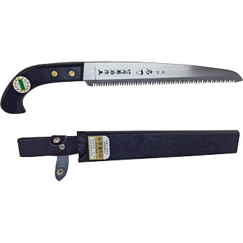 Single Edged Saw Black Sheath