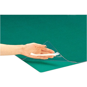 One-sided non-transition desk mat (PVC) W (With underlay)