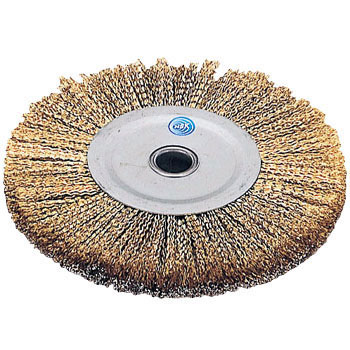 Steel Wire Gold Wheel Brush