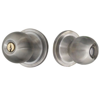 Door Knob Integral Lock