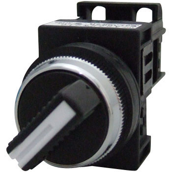 SELECTOR SWITCH Φ 25 (2 NOTCH AND KNOB-SHAPED)