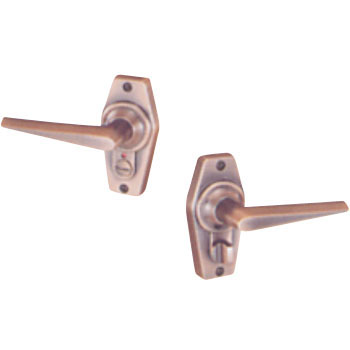 Display Home Lever Lock, Type 2, Copper Bronze