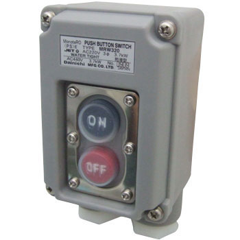 Push open/close device for power (watertight type)