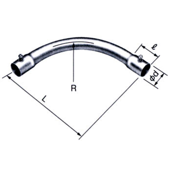 A Normal Pipe Bend Without Screw