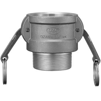 Male Screw Type Coupler Aluminum