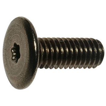 Slim Head Screw Six Lob Black Iron-Nickel Plating