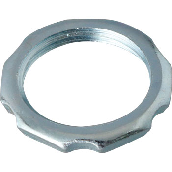 Lock nut, made of steel plates