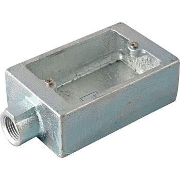 Exposed Switch Box, For Thick Steel Hdz/Made of Cast Iron