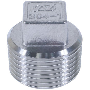 Rectangular Plug Stainless Steel Screw Joint