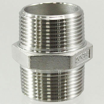 Hex Nipple Stainless Steel Screw Joint