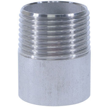 Single Nipple Stainless Steel Screw Joint