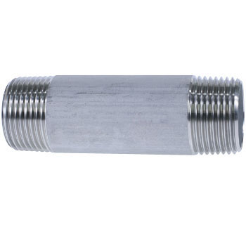 Double Long Nipple Stainless Steel Screw Joint