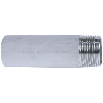 Single Long Nipple Stainless Steel Screw Joint