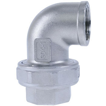 Union Elbow Stainless Steel Screw Joint