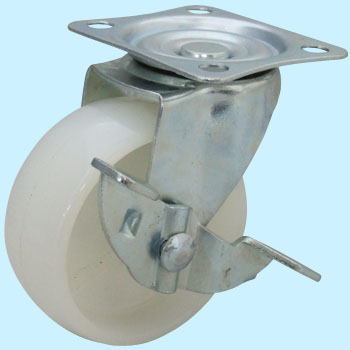 Nylon Swivel Caster With Stopper