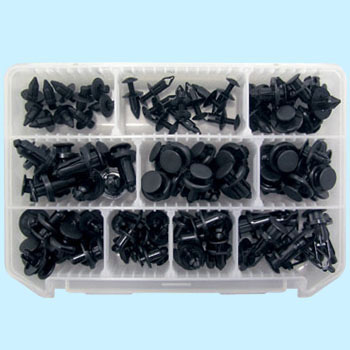 Push Rivet Clip Set
