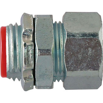 Connector (with parallel male screw for pipes)