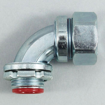 90° connector (with parallel male screw for pipes)