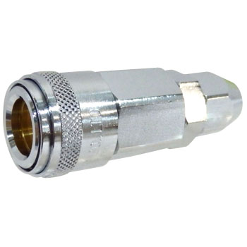 One Touch Socket Nut Coupler, For Urethane Hose Attachment