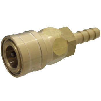Brass Socket Coupler, For Mounting Hoses