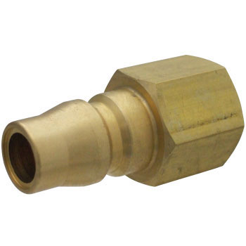 Brass Plug Coupler, For Mounting Male Screws
