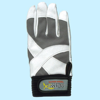 Cross Wing Inner Fleece Gloves