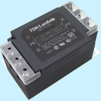 Low Back Terminal Block Type Noise Filter Rsen Series