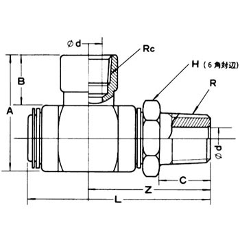 JI-DC Swivel Joint
