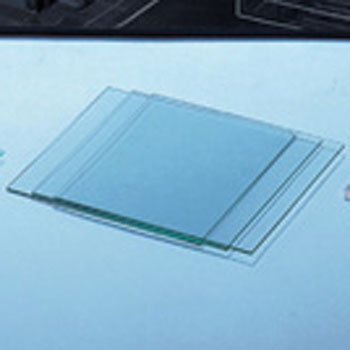 Glass plate for applying adsorbent (TLC plate)
