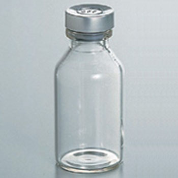 Vial, Rubber Stopper And Aluminum Cap